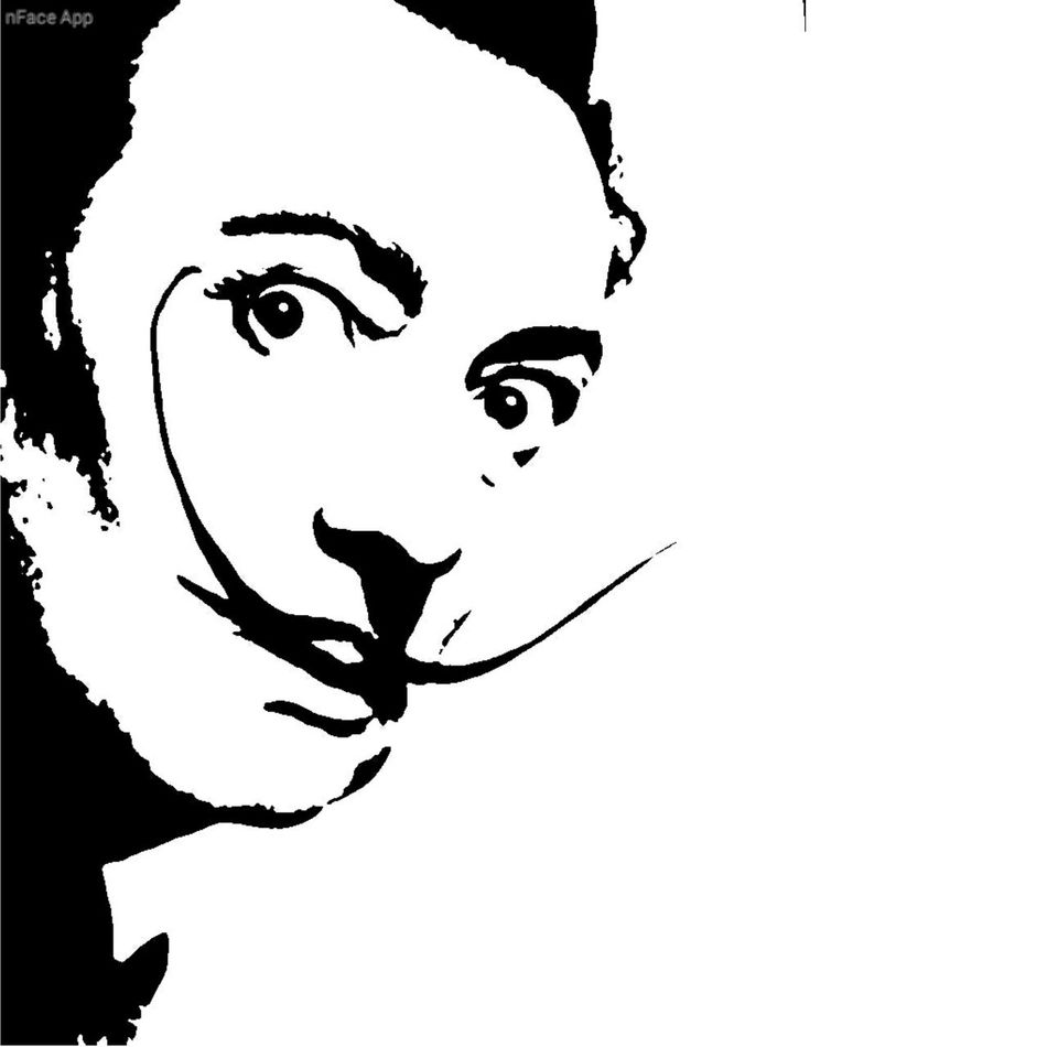 Sketch Photoshop Salvador Dalí Salvadordali Eyeemphotography
