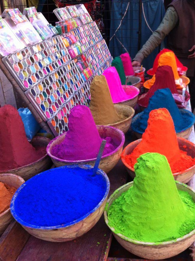 Multi Colored Market Powder Paint