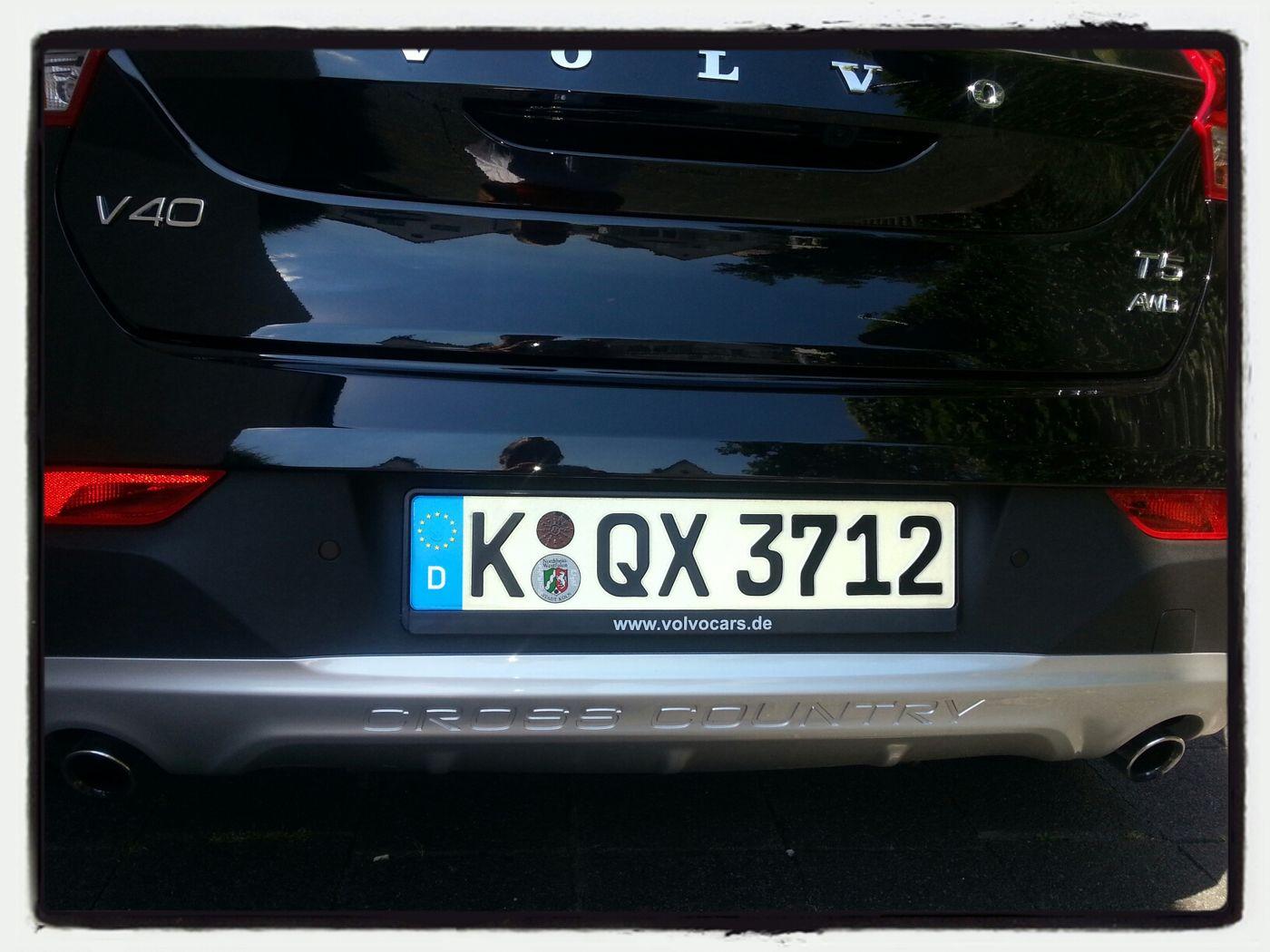 I never wanna give HIM back :-) Volvo Schlüsseltausch Volvo V40 XC