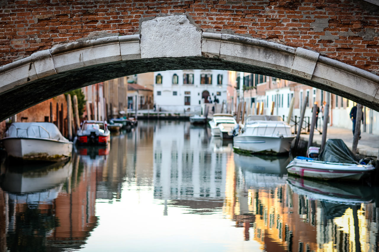 Canal The Week On EyeEm Venice, Italy Water Way Arch Architecture Boat Boats Bridge - Man Made Structure Building Exterior Built Structure Canal Day Mode Of Transport Nautical Vessel Outdoors Reflection Street Street Photography Streetphotography Transportation Travel Destinations Venice Water Waterfront