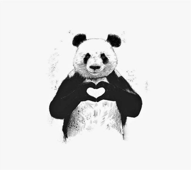 Happy Panda.. Not Love You Too