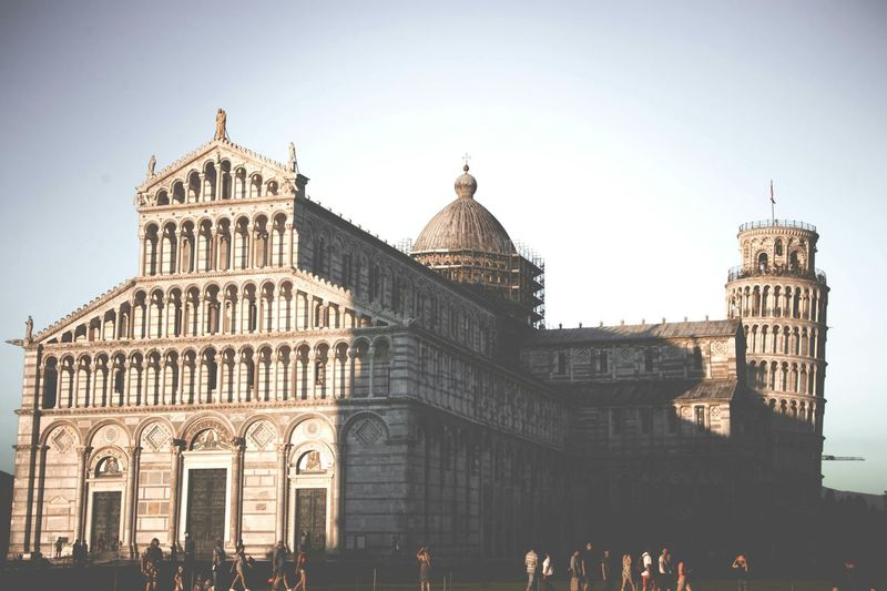 Pisa Pisa Pisa Tower Pisa Italy Pisa Cathedral Pisa Baptistery Italy Architecture Travel Destinations Government Building Exterior Built Structure City The Architect - 2017 EyeEm Awards EyeEmNewHere Neighborhood Map City Travel Film Faded Religion Touristic History Historia Piazza Dei Miracoli Day