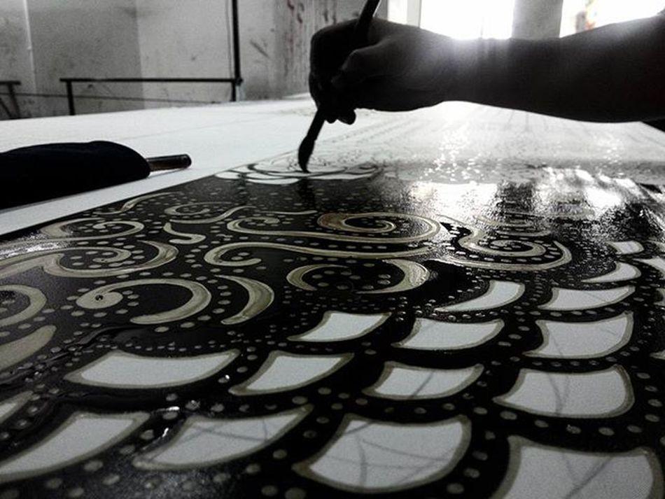 Batik untuk segala-galanya... ImDesigner Batikdesigner Selangor Kraftanganmalaysia MalaysiaKita