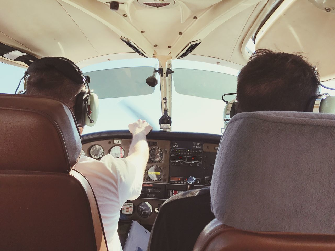 Fly Flying Thelimitisthesky Sky Vehicle Interior Airplane Men Pilot Vehicle Seat Air Vehicle Control Panel Teamwork Happiness Freedom BYOPaper! BYOPaper!