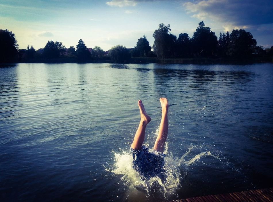 Beautiful stock photos of jump, Diver, Germany, Jumping, Lake