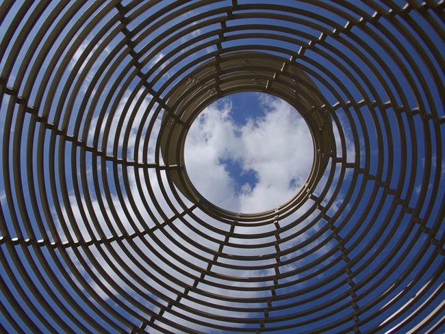 Architecture Backgrounds Built Structure Circle Cloud - Sky Concentric Construction Day Full Frame No People Outdoors Pattern Sky