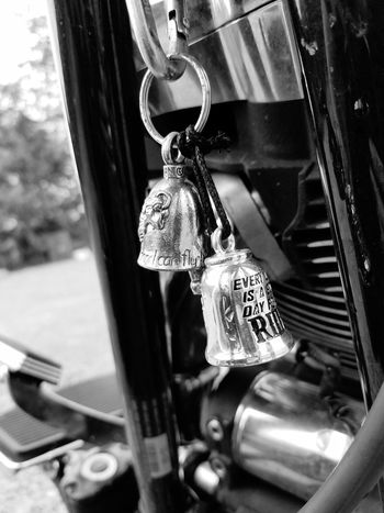 Close-up Metal Day Transportation No People Outdoors Motorcyle Bells, Motorcyclelifestyle Black And White Friday