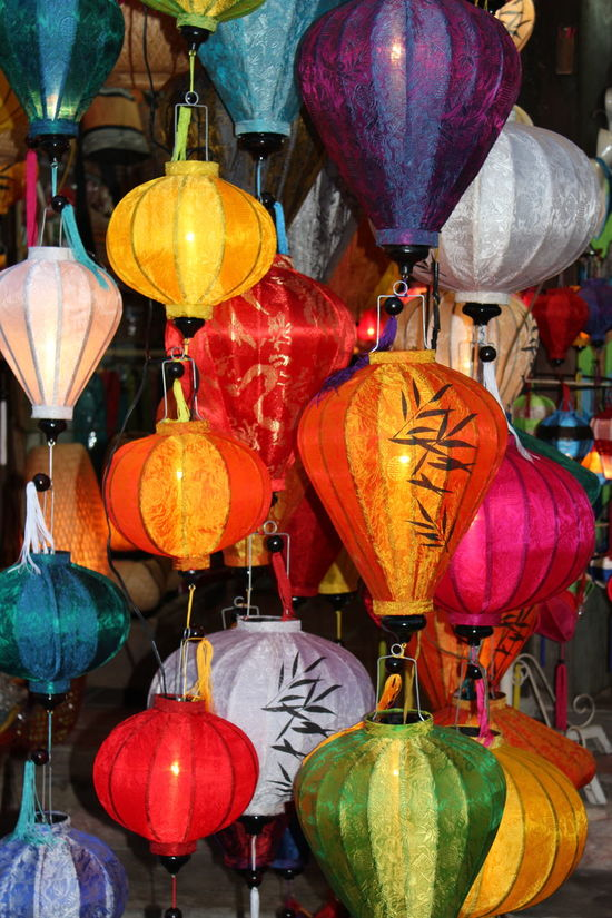 Vietnamese lanterns Abundance Art Celebration Celebration Event Chinese Lantern Close-up Culture Cultures Decor Decoration Design Electric Lamp Hoian, Vietnam HoiAnancienttown Illuminated Lighting Equipment Multi Colored No People Ornate Tradition Vietnamese Lantern First Eyeem Photo