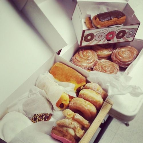Best donuts everrrrrrr. Donuts Heavenlydonuts Lamarmo GetInMyBelly