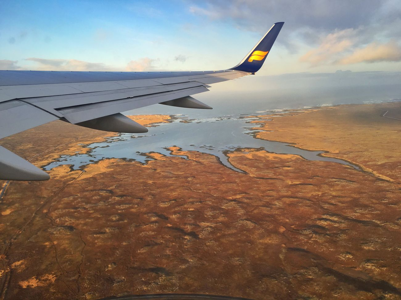 On My Way Home View From The Window... Clouds And Sky Coastline Iceland_collection Wings Iceland116 Goodbye