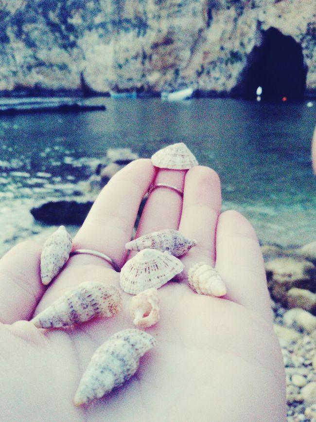 She sells sea shells on the sea shore Shells Sea Shore Dwejra Beach Cave Beachphotography
