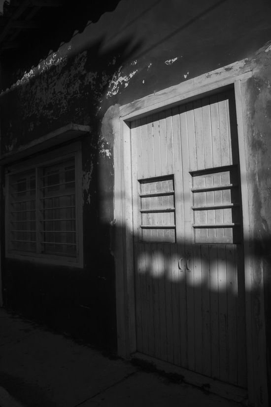 Abandoned Absence Architecture Building Exterior Built Structure Closed Damaged Day Deterioration Door Entrance Highlights House Huatusco Narrow No People Obsolete Old Shadow Tlacotalpan Veracruz Wall Wall - Building Feature Window