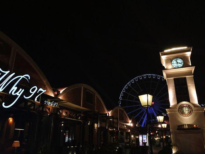 曼谷夜市 摩天轮