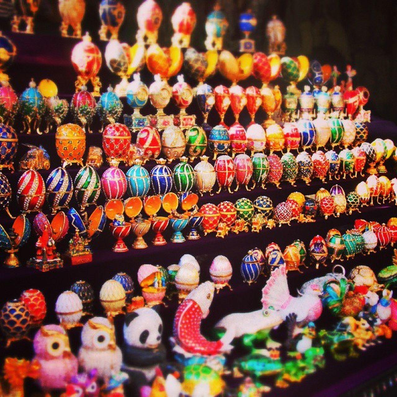 Fagergè Eggs @ Izmailovsky Market RussianSouvenir Moscow
