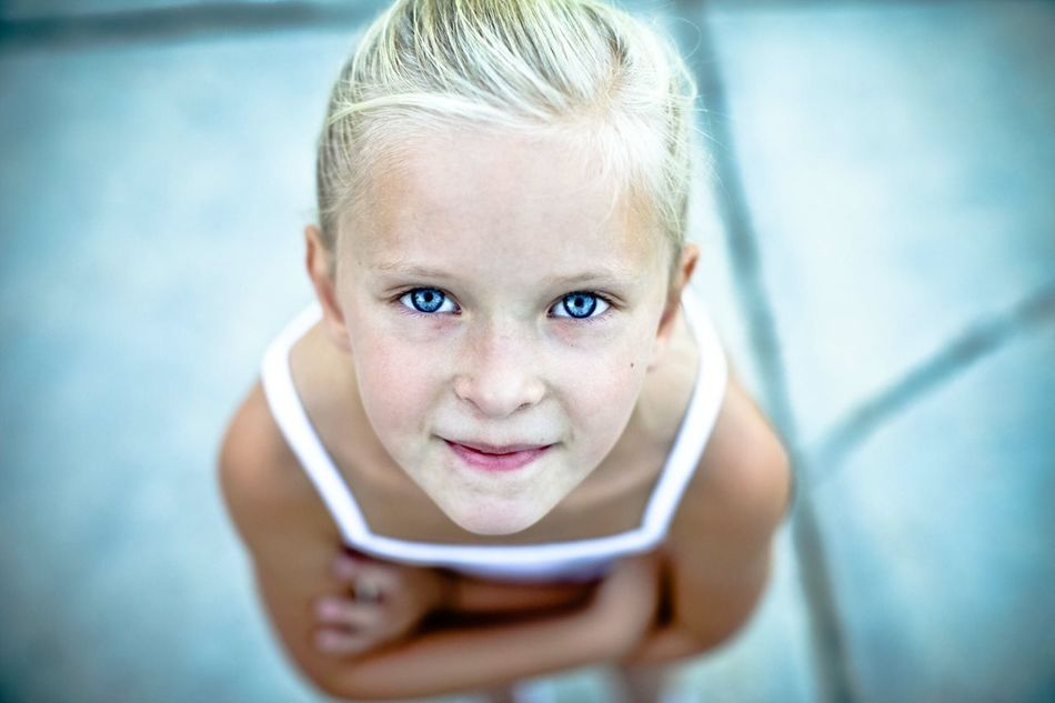Beautiful stock photos of eyes, Arms Crossed, Beautiful, Blonde Hair, Blue Eyes
