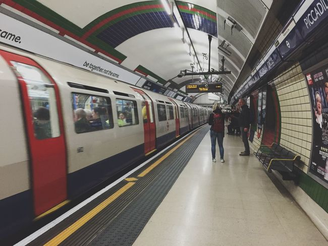 This is a District Line Train Notes From The Underground London Calling Public Transportation Check This Out EyeEm Best Edits Eye4photography  The Street Photographer - 2015 EyeEm Awards The Moment - 2015 EyeEm Awards The Traveler - 2015 EyeEm Awards