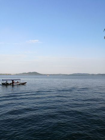Water Tranquility Blue Sky Horizon Over Water Tranquil Scene Outdoors Clear Sky