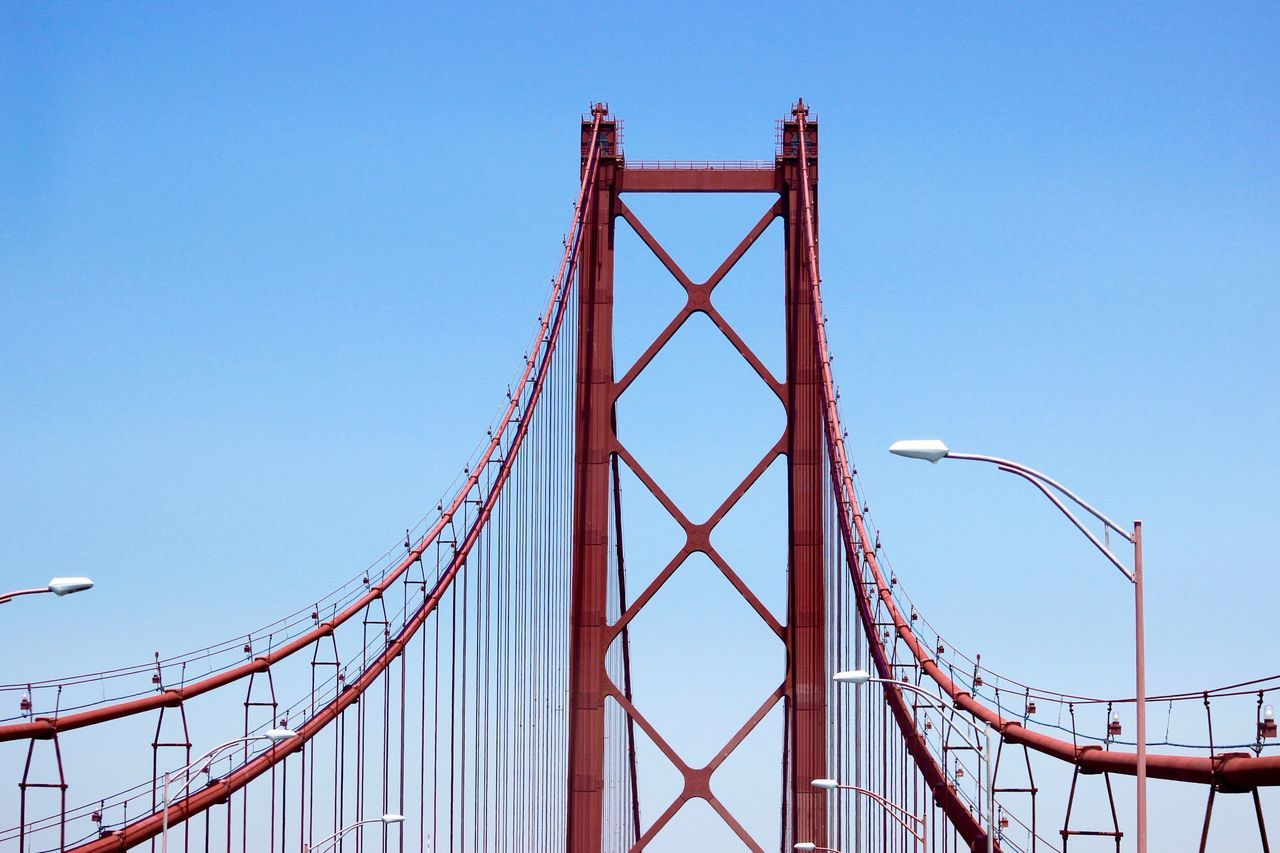 Beautiful stock photos of portugal, April 25Th Bridge, Architecture, Bridge - Man Made Structure, Built Structure
