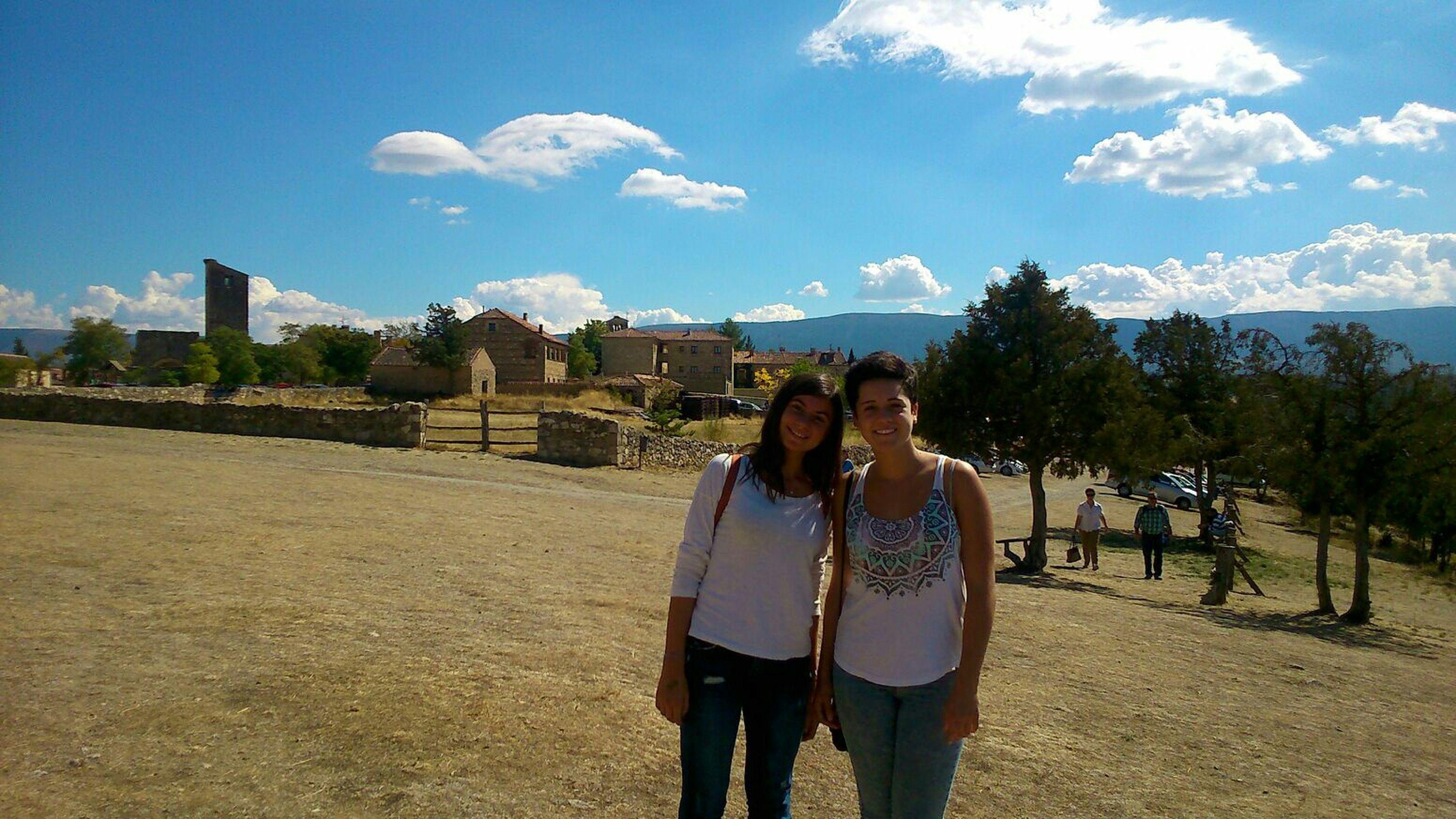 W/ my spanish sister 🇪🇸🎈