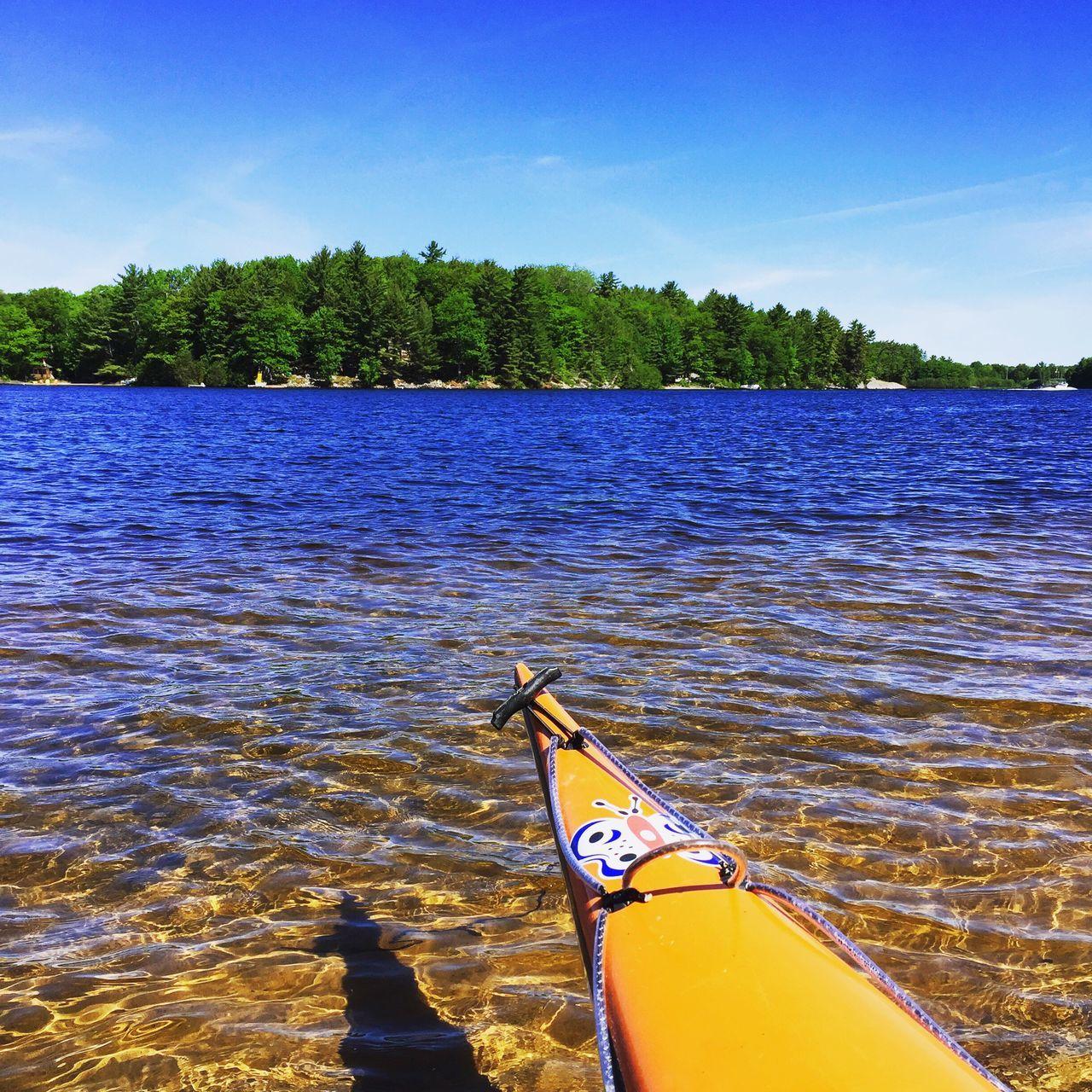Kayak Lake Park Camping Water Bow Summer