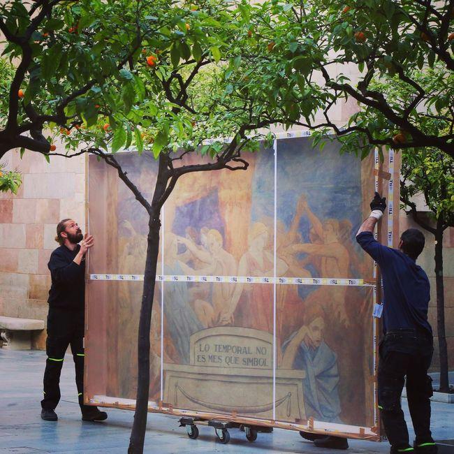 Torresgarcia Palau De La Generalitat Catalunya