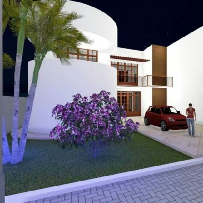 Projeto Residencia contemporanea.....Work Arquitetura MaqueteVirtual Lumion3D Revit DesignInteriores Projeto 3D AmoMuitoTudoIsso