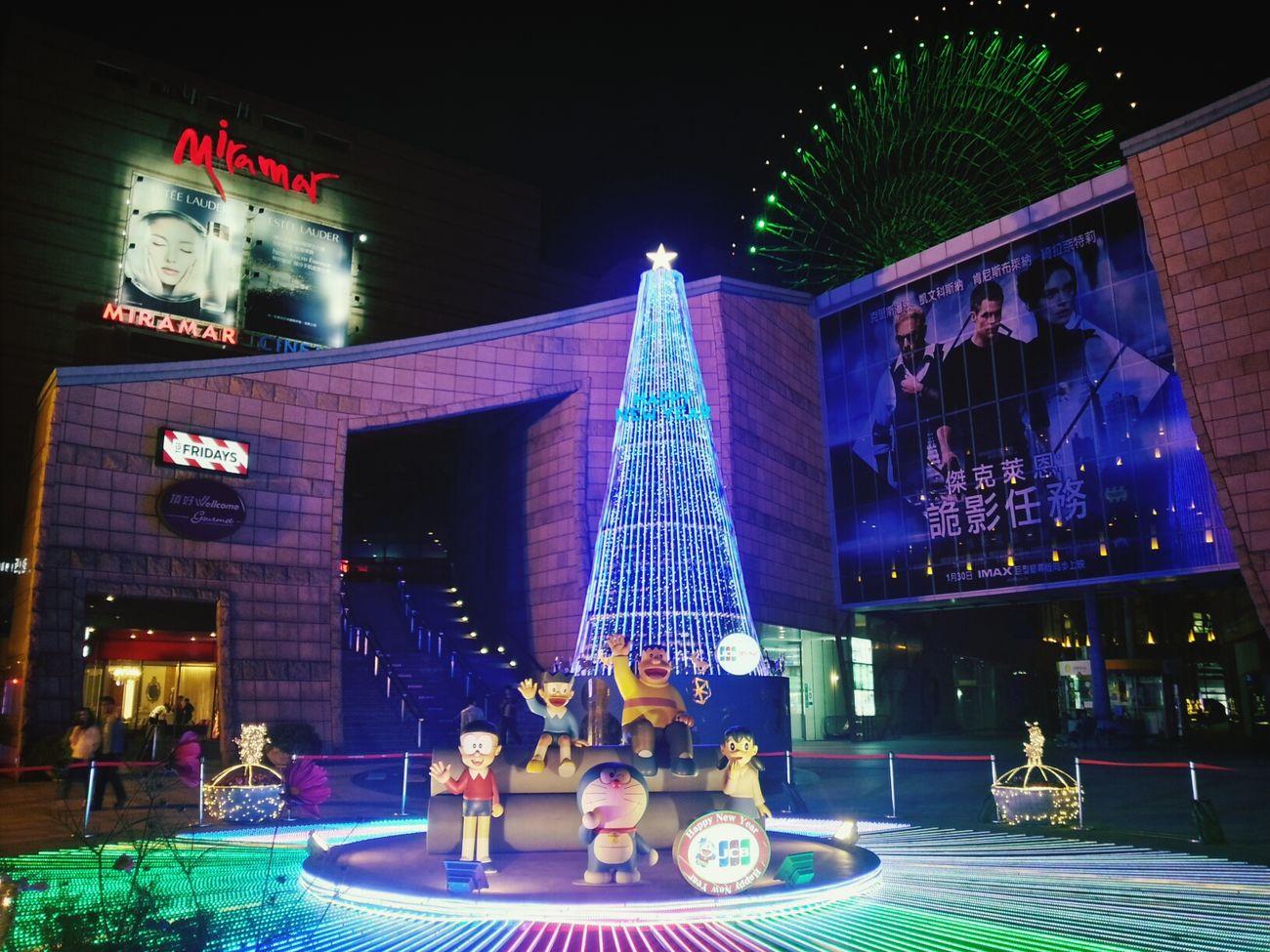 馬不停蹄!哆啦A夢 夜騎 Taipei