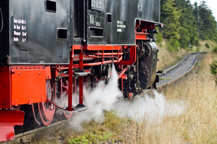 Always Always Be Cozy Brocken Day Enjoy The New Normal Harz Locomotive My Year My View No People Old Train Outdoors Rail Transportation Rasender Roland  Red Steam Train Train Train - Vehicle