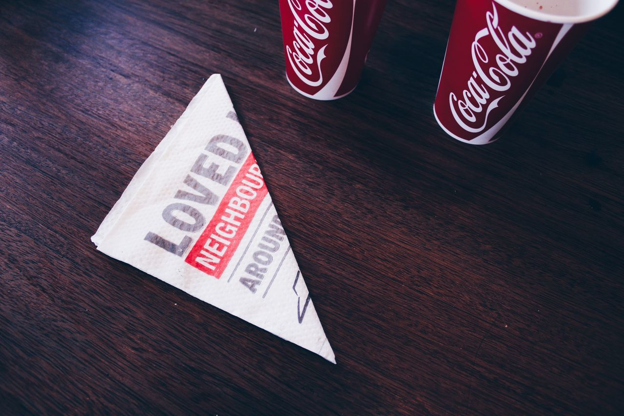 Text No People Day Cups BreAkfAst 💕 Coca Cola Canonphotography Pizza Hut Resturant Paper Africa EyeEm EyeEm Gallery