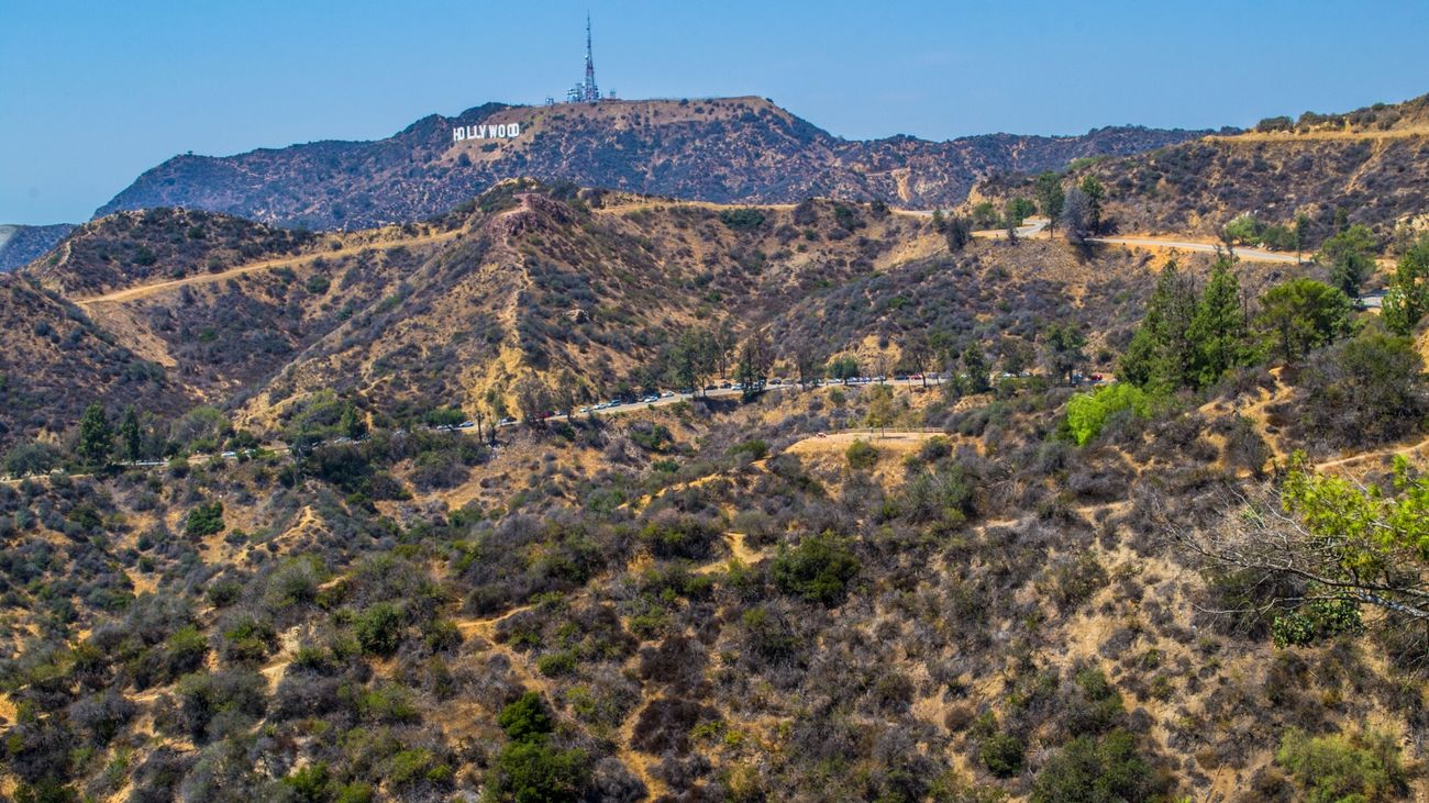 Hollywood Sign in Los Angeles Cali California City Friendlylocalguides Griffith Hollywood Landscape Losangeles Mustsee Observatory Panorama Panoramic Sign USA Views