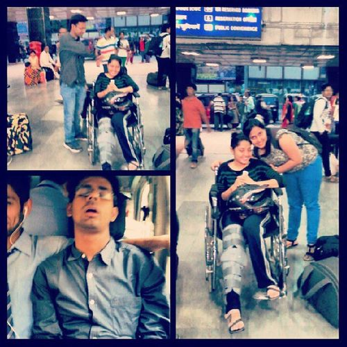 Instagram Instagraphy Instashot Instapic Instaclick Photogrid Brokenleg Faltukadrama Chalnabhiniaata Wheelchairfun Earlymorningphotoshoot Accidentreliefbuddies Supertired Superballnighter