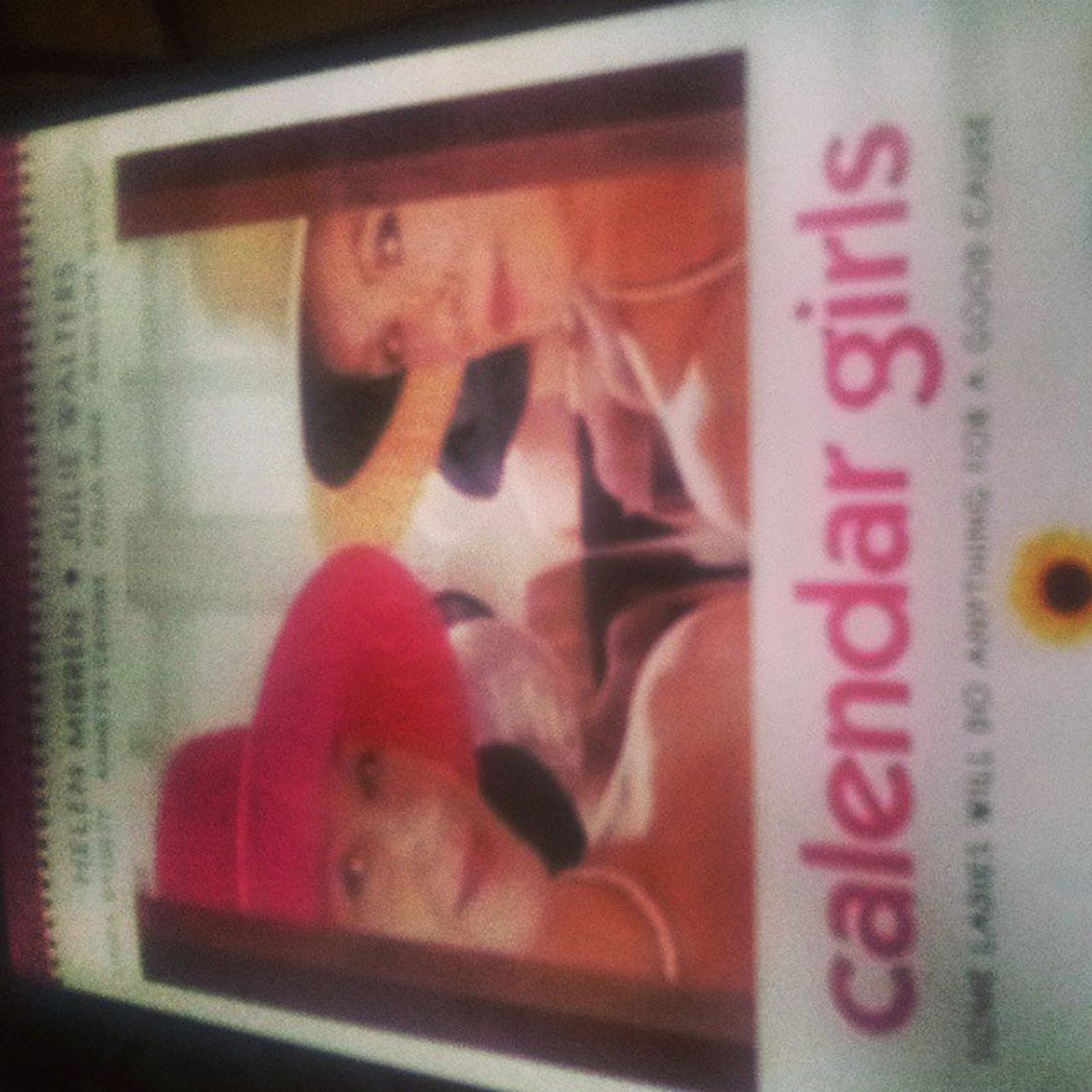 favourite film. Ah CalendarGirls Film Wi Funny
