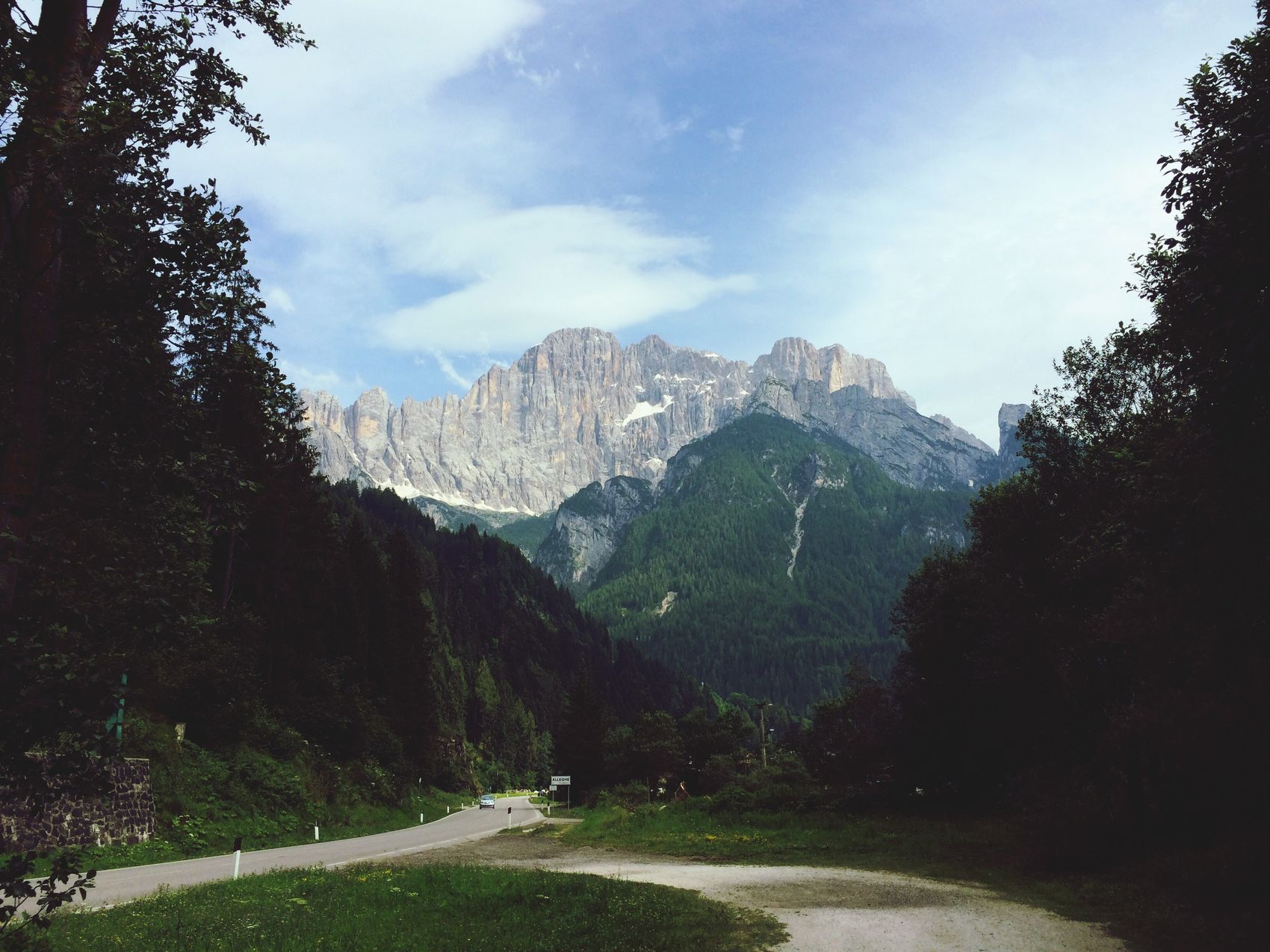 Mountains Landscape Nature World