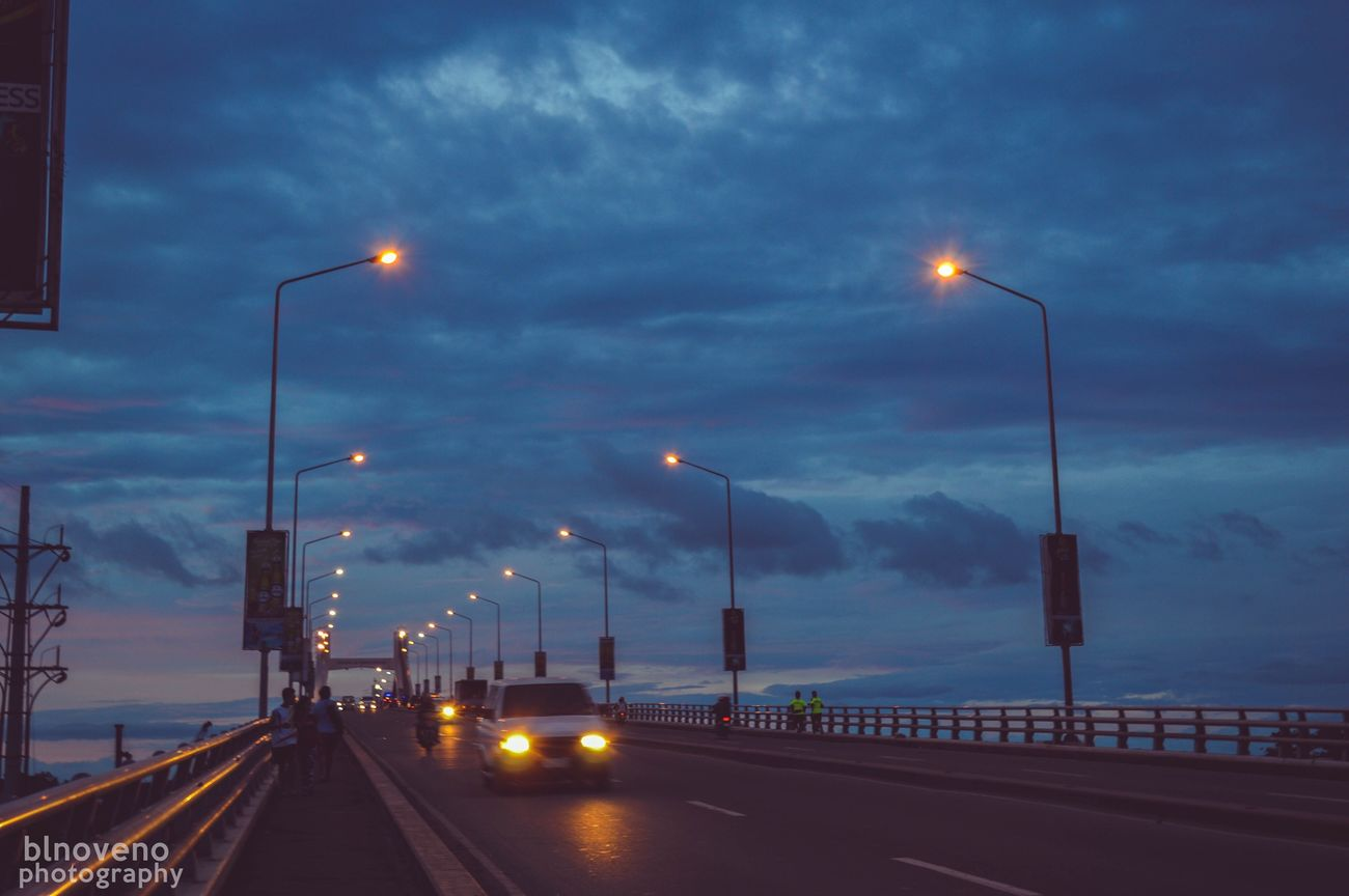 Long drive home. Nikon Nikon D3200 Nikonphotography City Lights Bridge Architecture Cebu Mactanbridge Philippines First Eyeem Photo