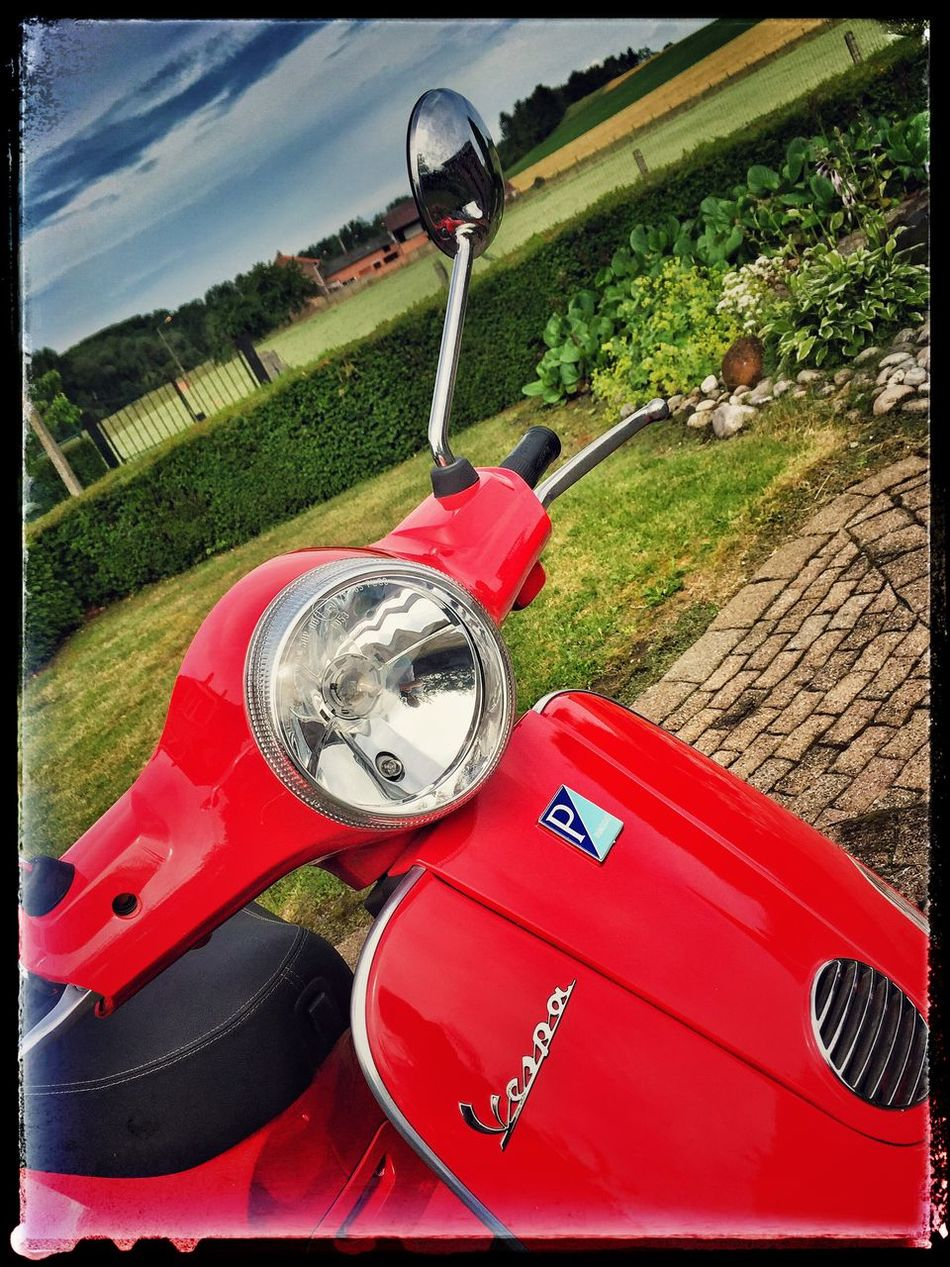 Vespa time Relaxing Enjoying Life