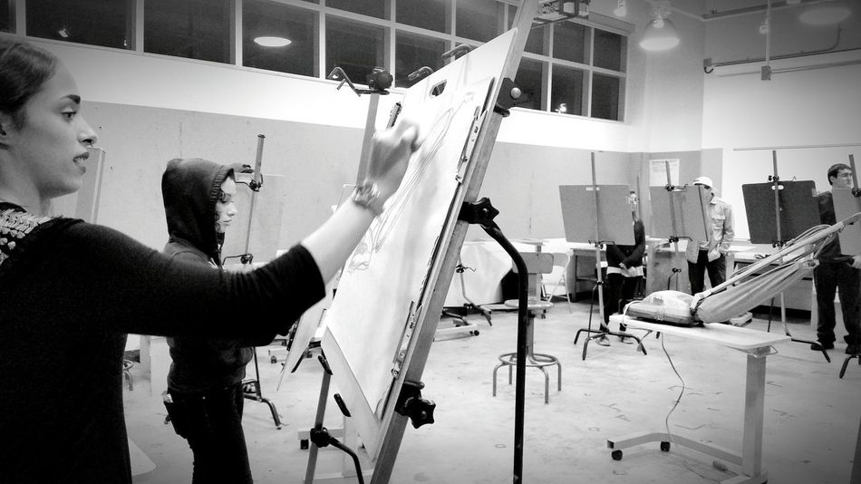 My Student Life Artclass Students Classmates Drawing Art Student Drawing Class Class Work  Student Life Black And White Photography