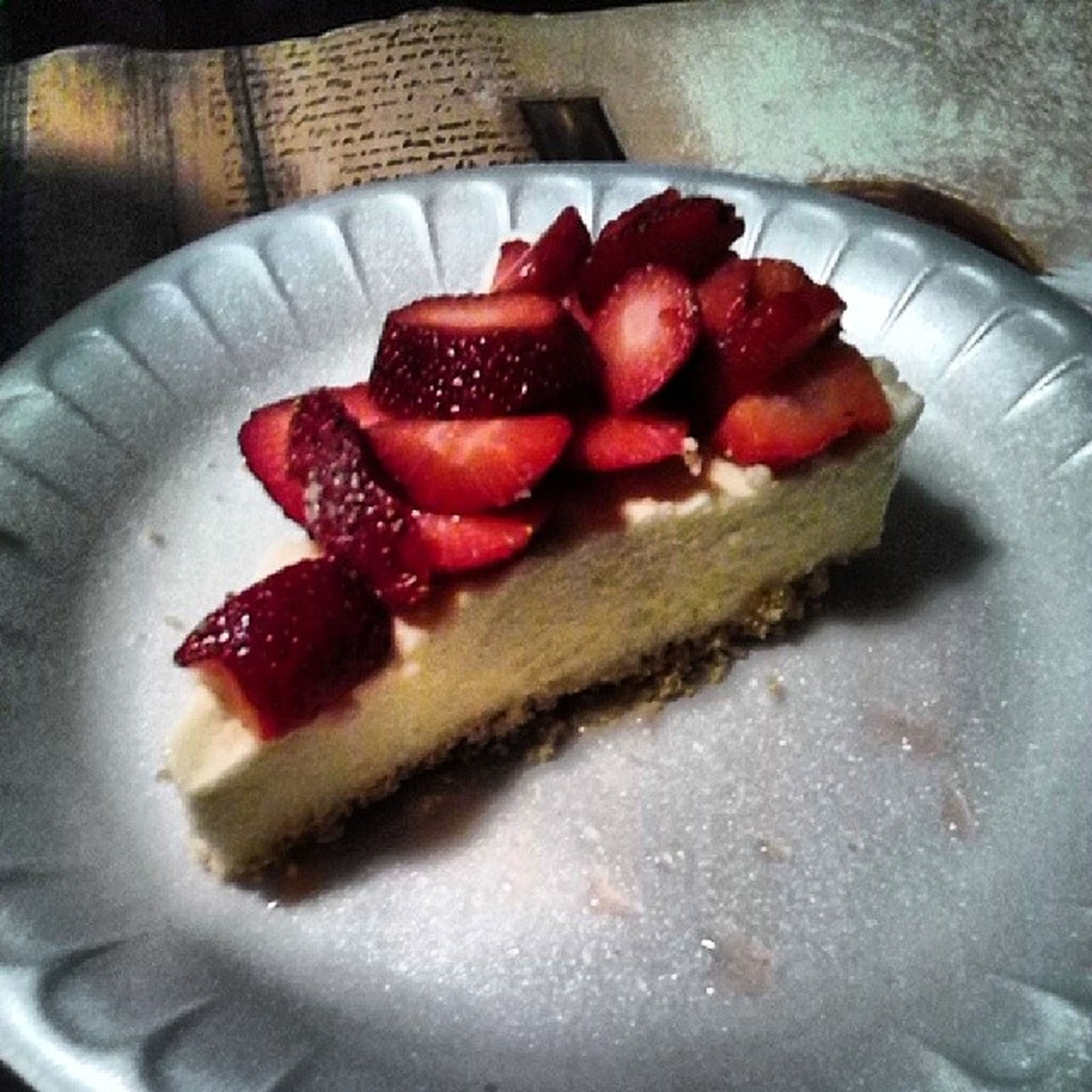 food and drink, food, freshness, indoors, ready-to-eat, strawberry, sweet food, fruit, plate, indulgence, still life, red, dessert, close-up, healthy eating, temptation, slice, cake, serving size