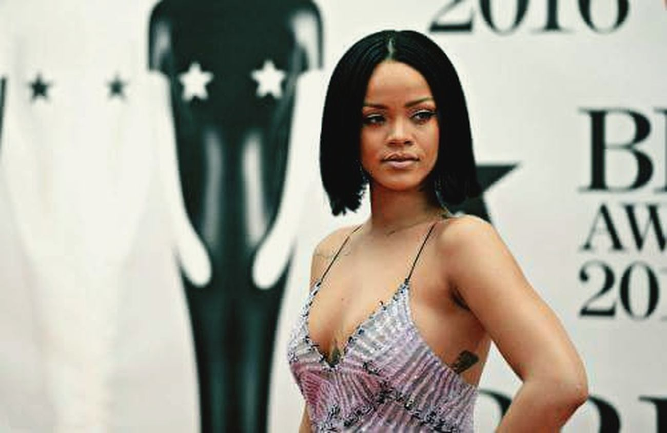 Rihanna Brit Britawards2016 Workworkwork