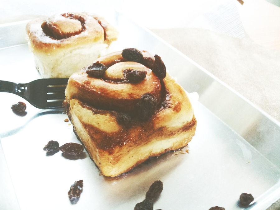 my 1st Cinnamon bun I Love Food! Enjoying Life Eating
