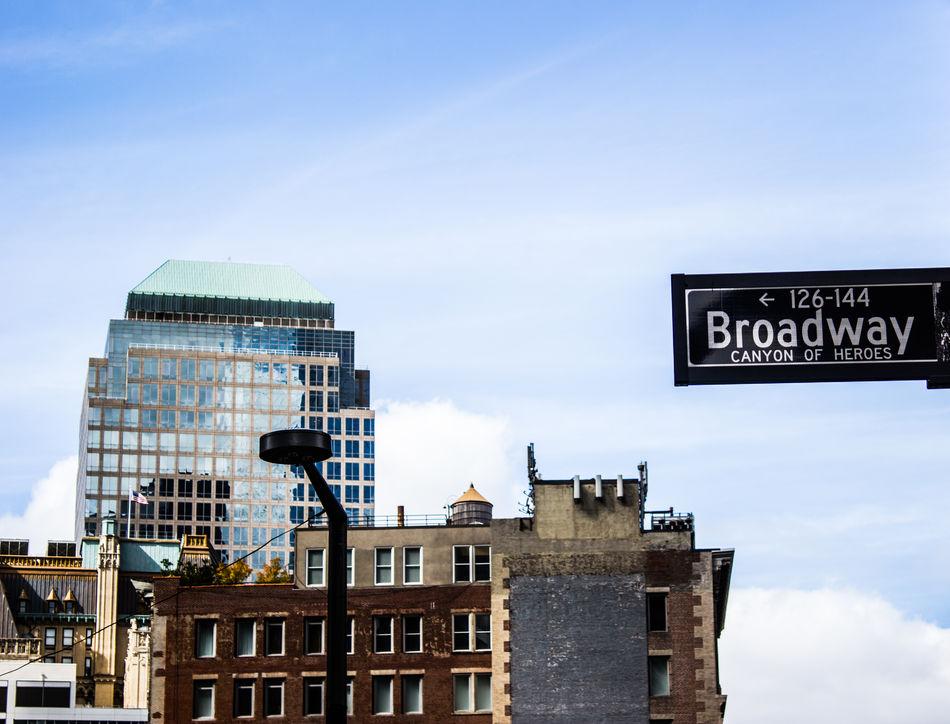 Architecture Broadwaystreet Building Manhatan Newyork No People Roof Street Streetphotography
