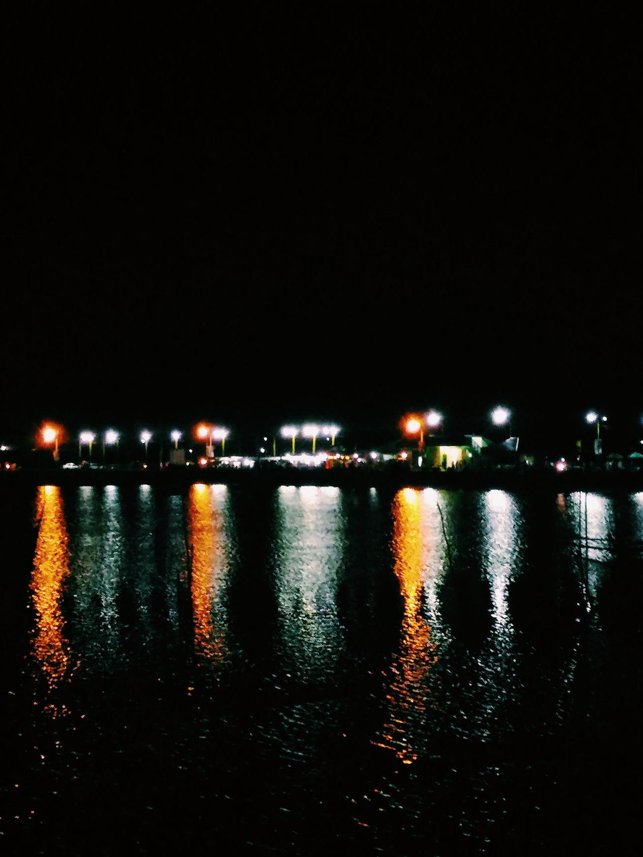 Sorsogon Baywalk Baywalk Nightwalk Sorsogoncity Reflection Reflections In The Water