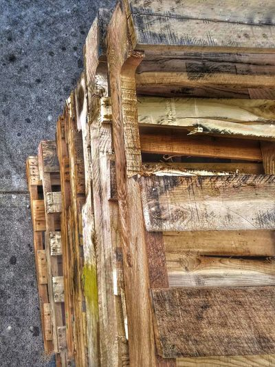 -Beauty in the Mundane- Pallet Street Photography Street View Wood Stacked Pallets City Life