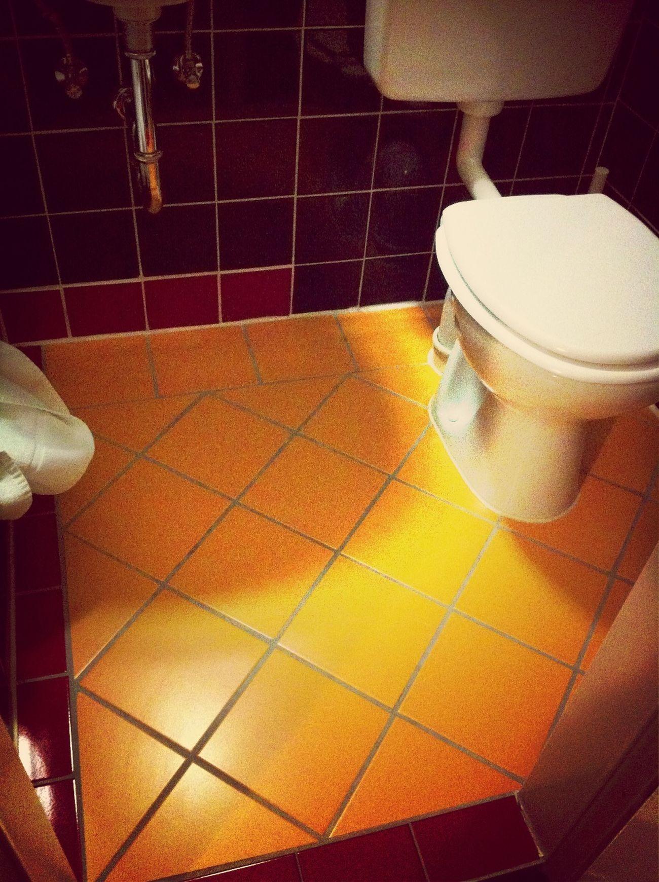 Coloured Bathroom