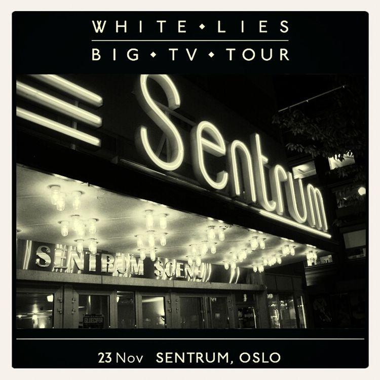 White Lies Big TV Oslo