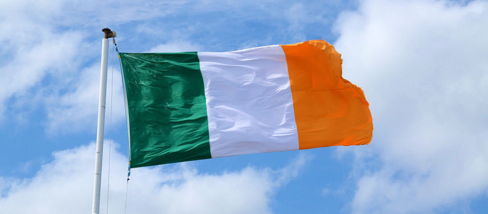 Beautiful stock photos of st patricks day, Cloud - Sky, Day, Flapping, Green Color