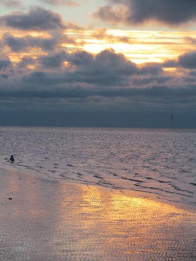 St. Peter-Ording Sunset Meer Strand