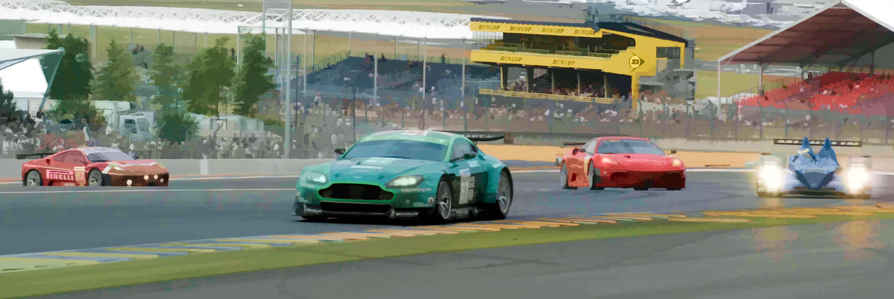 Aston Martin Car Day Land Vehicle Mode Of Transport Motor Sport No People Outdoors Race Track Transportation