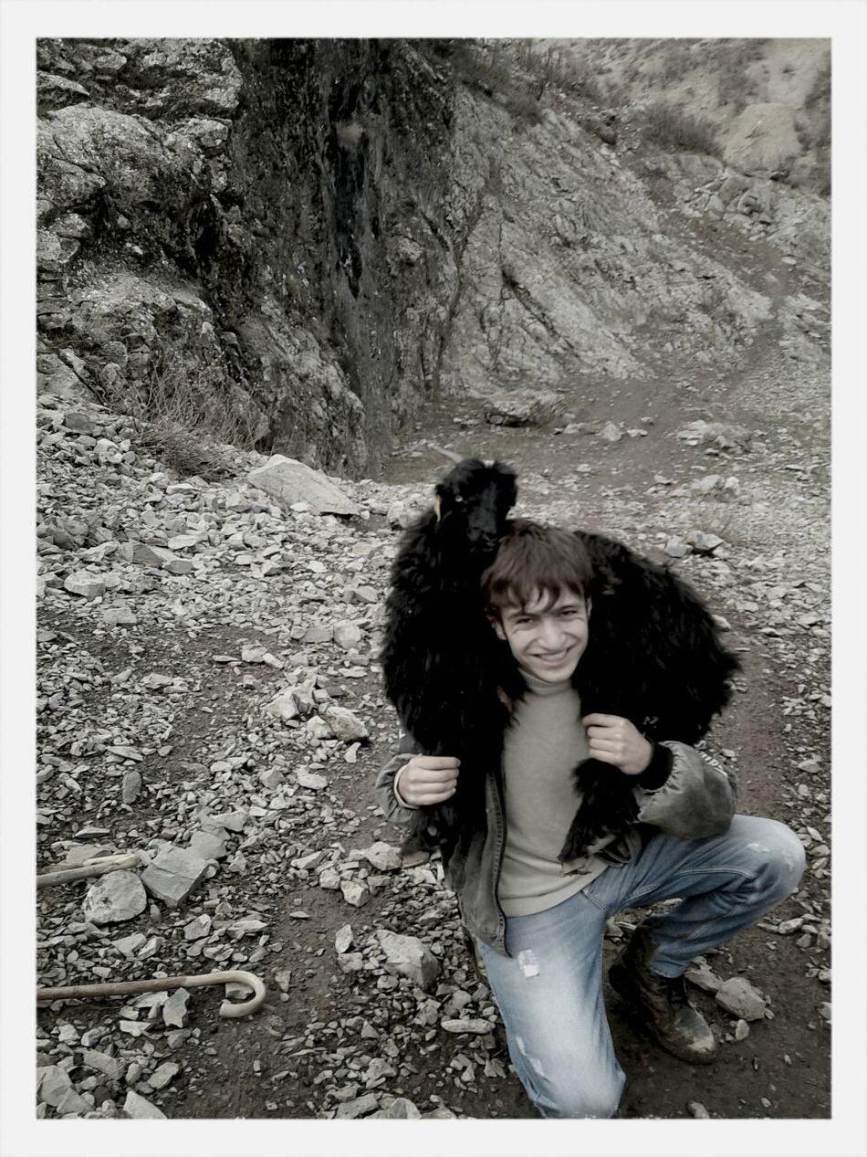 dola birhim . Climbing A Mountain