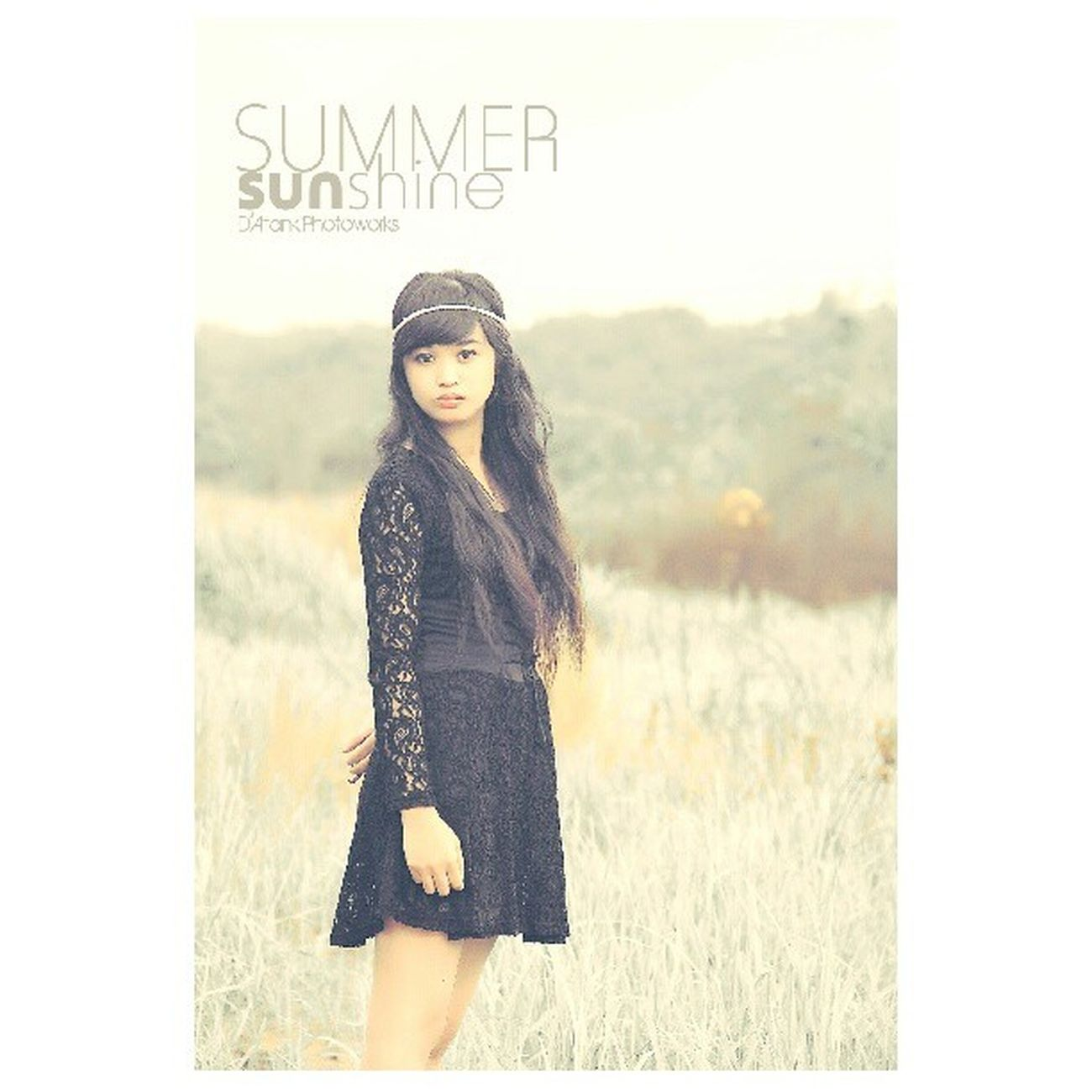 Summer Sunshine Potrait Photoshoot Instatanjungtabalong Instabungas Instabanjar