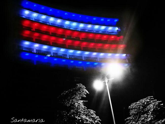 Flag Arts Culture And Entertainment Celebration Event Independence Independencia Costa Rica Puravida Pura Vida ✌ Night Vibrant Color